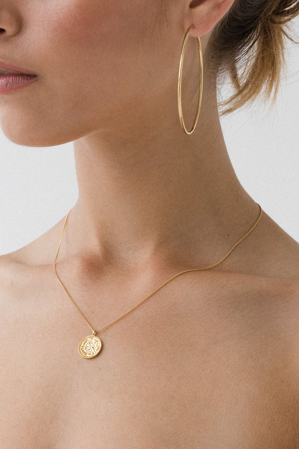 SHOP - FLASH JEWELLERY - galaxy pendant necklace - 14k vermeil