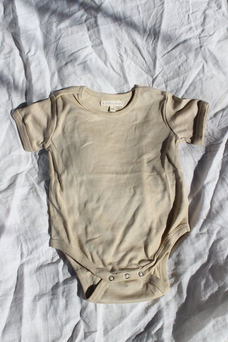 SHOP - LITTLE REEF - everyday bodysuit - sand