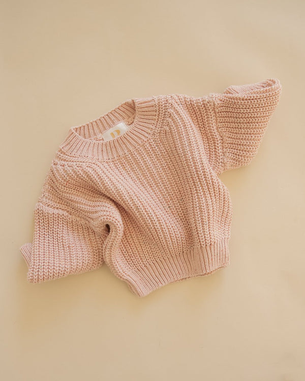 SHOP - BABY BIRD - knit top - pink