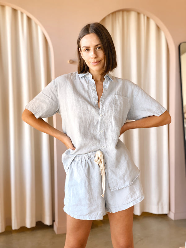SHOP - LINEN SOCIAL - lounge set - mist