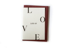 SHOP - Clare Bernadette - Love Card