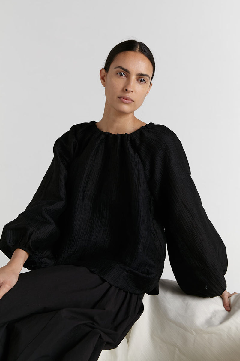 SHOP NOW - Marle - Lydia Top - Black
