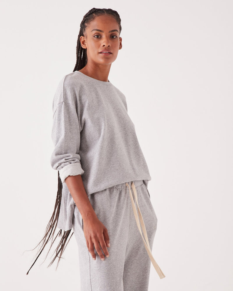 SHOP - ASSEMBLY LABEL - Lahni Long Sleeve Top - Grey Marle