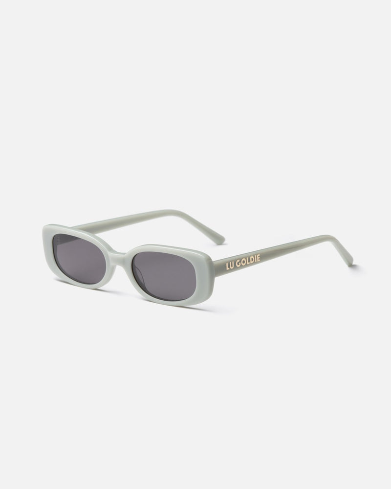 SHOP - LU GOLDIE - solene sunglasses - sage