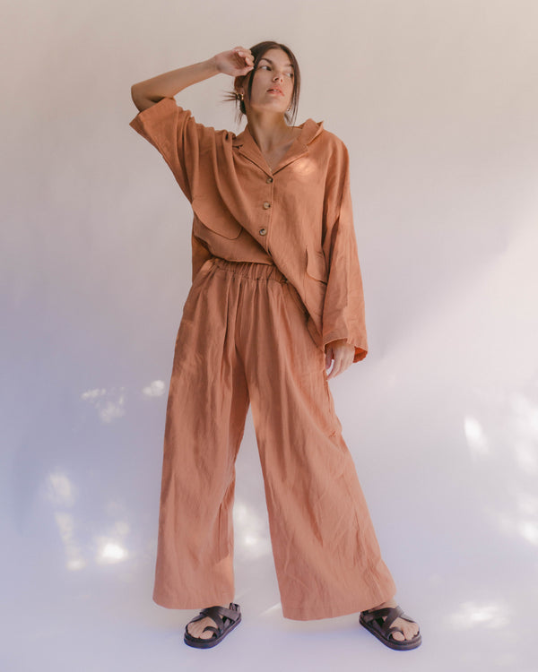 SHOP - THE LULLABY CLUB - PRE ORDER lounge pants - clay