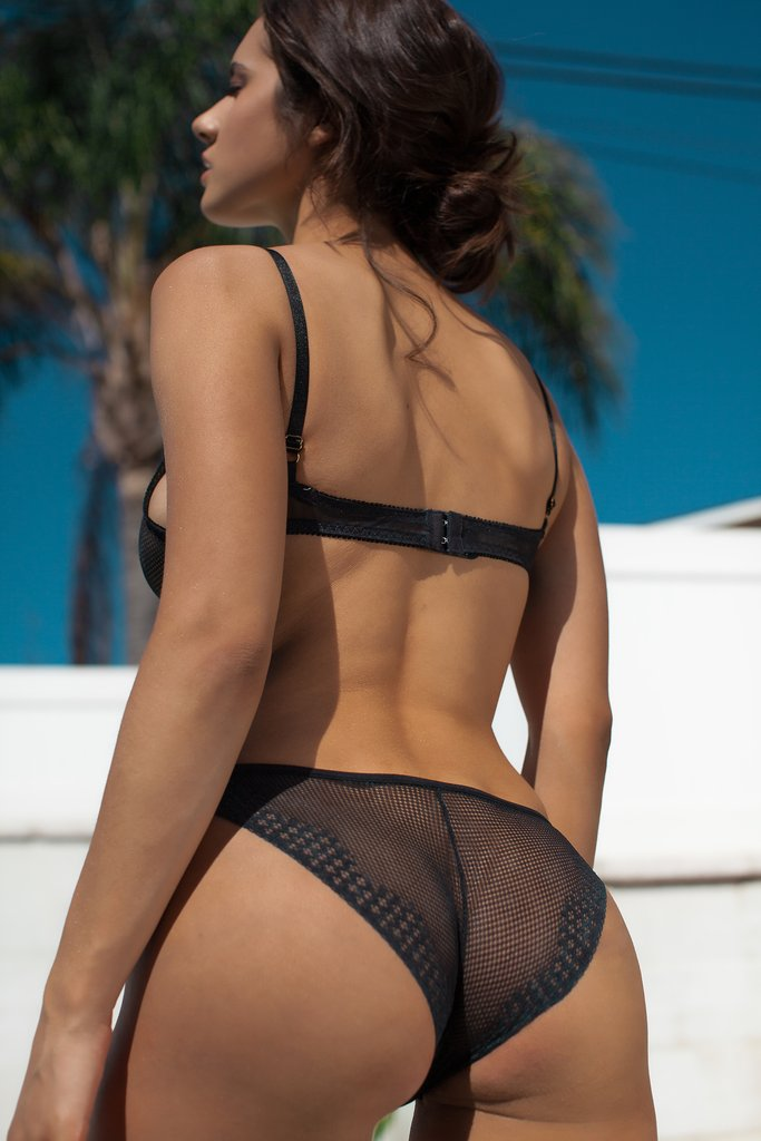 kat - madison underwear - black