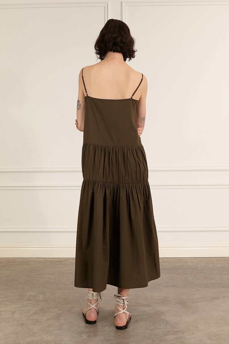 SHop - Marle - Vanessa Dress - Khaki