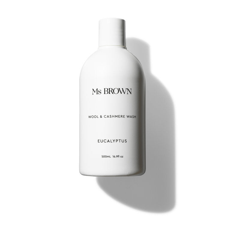 ms brown - wool and cashmere wash 500ml