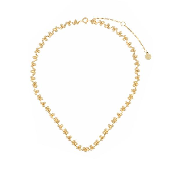 ornate choker - gold