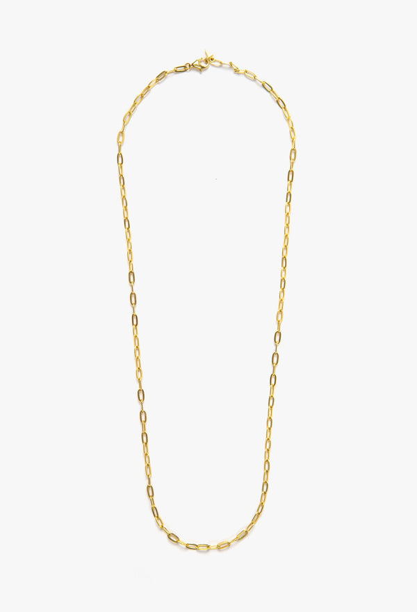SHOP - FLASH JEWELLERY - palace chain necklace - 14k vermeil