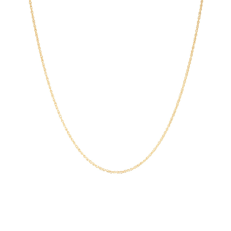 Rope Chain Necklace - Gold