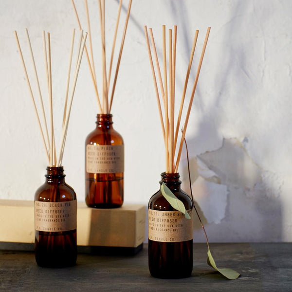 SHOP - PF CANDLE CO - amber & moss reed diffuser