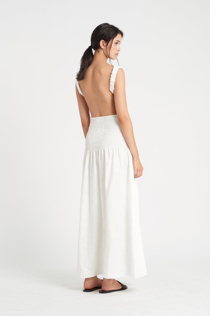 SHOP - SIR THE LABEL - lorena open back maxi