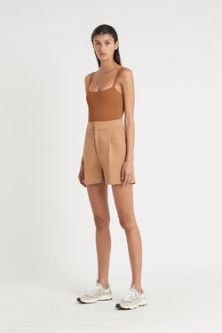 Nikkou Store - SIR - Andre Tailored Short - Camel