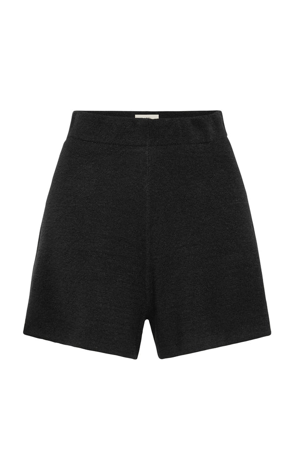 SHOP - ST AGNI - spencer shorts - black