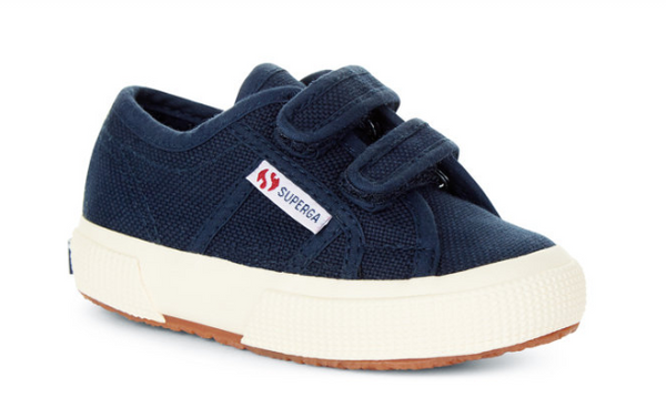 bstrap baby sneaker - navy