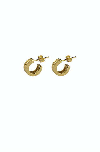 Ranura Earrings - Gold