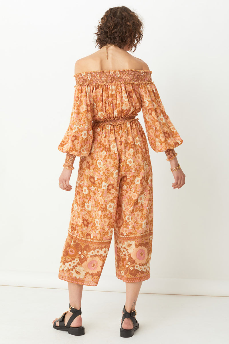 SHOP - SPELL - anne jumpsuit - peach