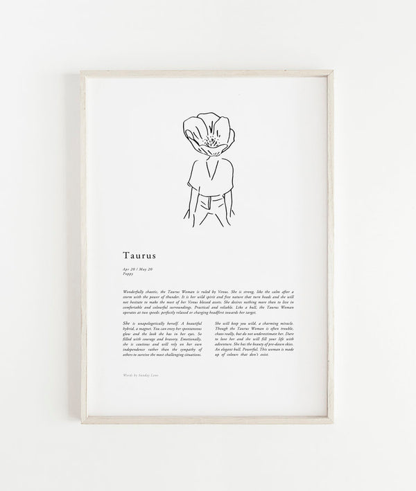 SHOP - SUNDAY LANE - taurus woman - 02