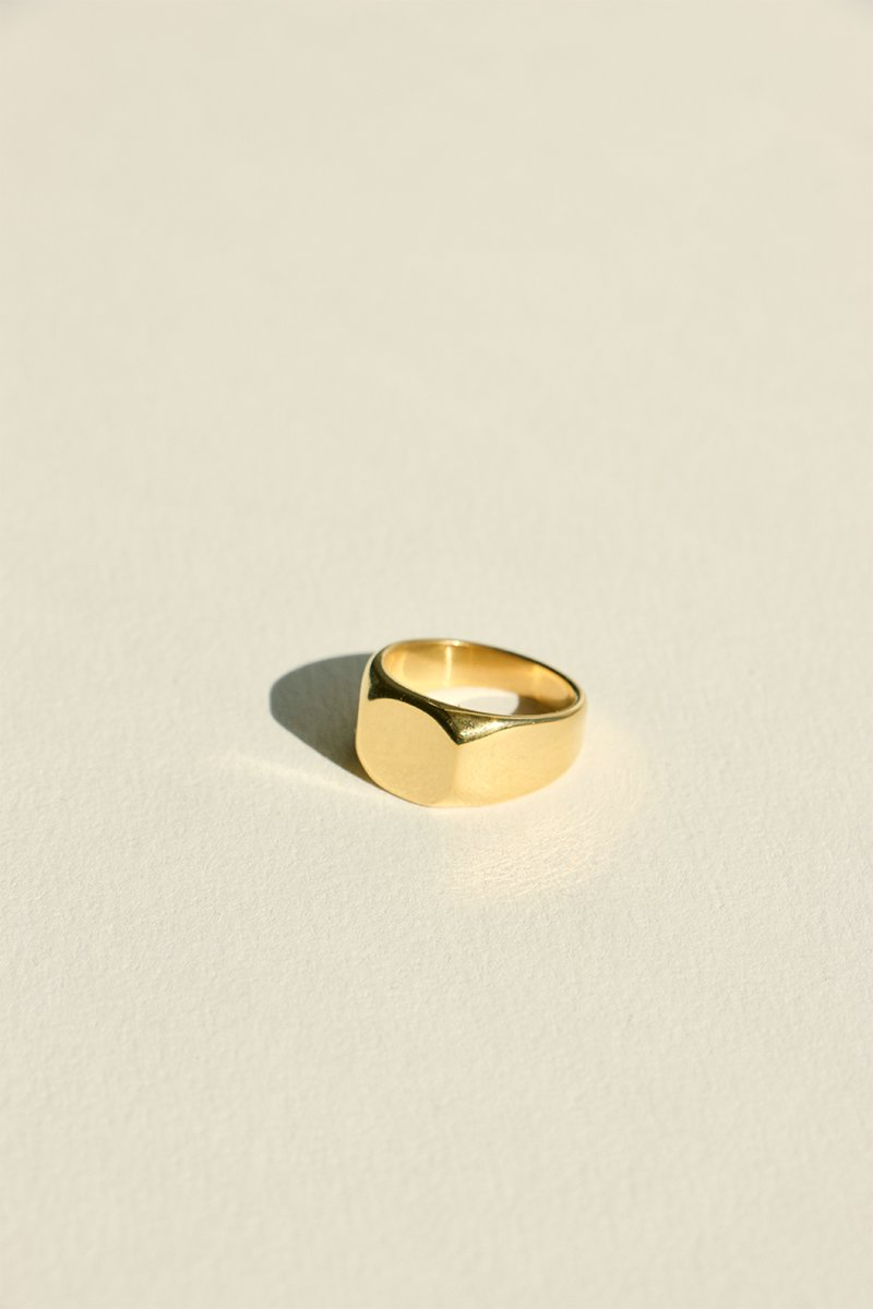 SHOP - BRIE LEON - abuelo signet ring