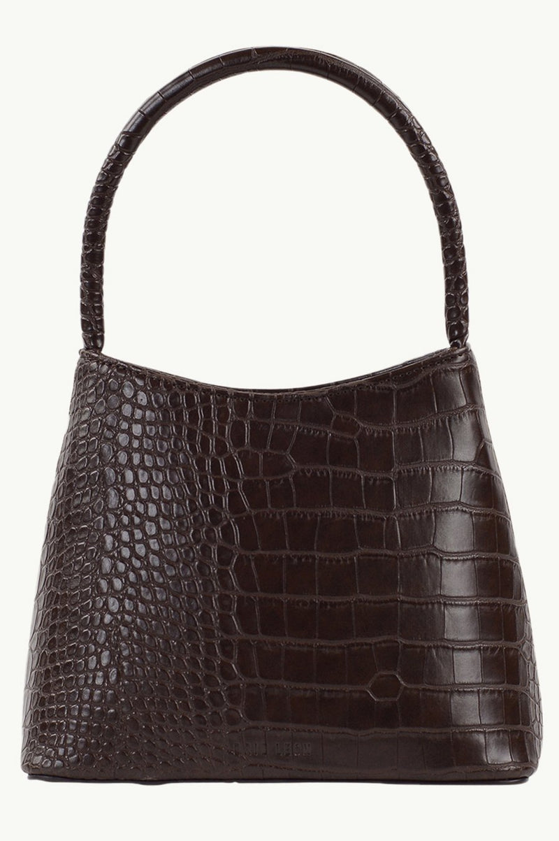 SHOP - BRIE LEON - chloe bag - chocolate matte croc