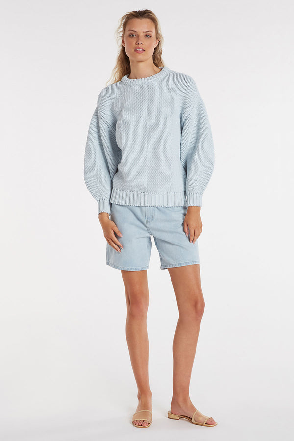SHOP Zulu & Zephyr Entwined Jumper powder blue
