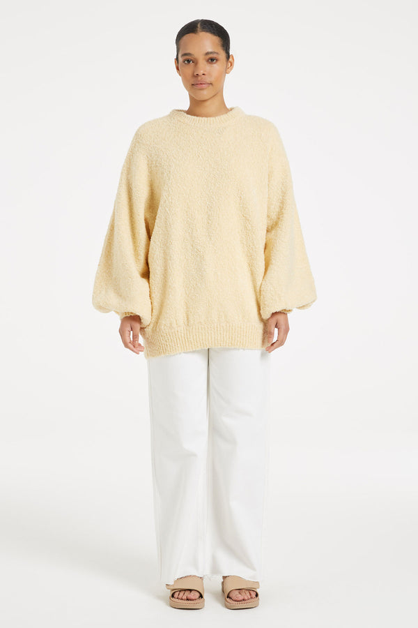 SHOP - ZULU & ZEPHYR - Soothing Knit Jumper - Vanilla