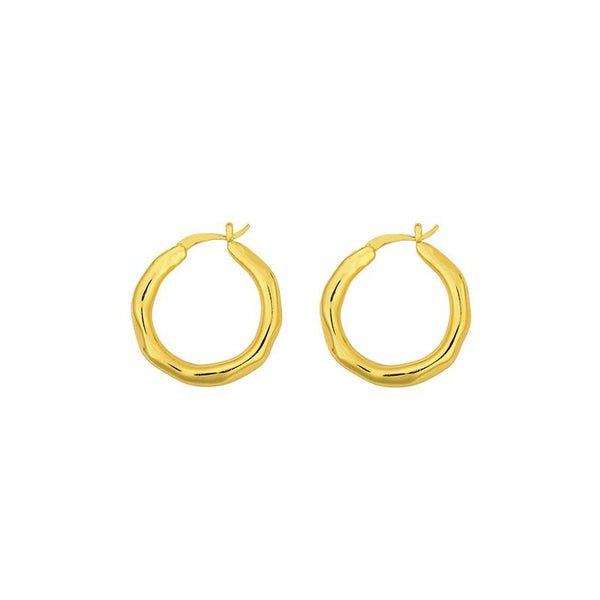 SHOP - Brie Leon - Organica Hoops Large - Gold
