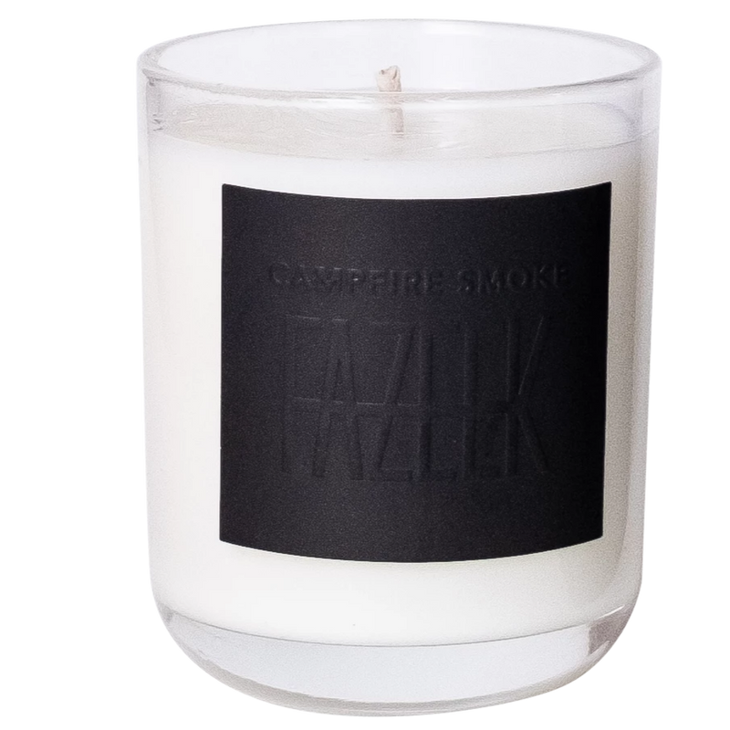 SHOP - Fazeek - Glass Candle - Campfire Smoke