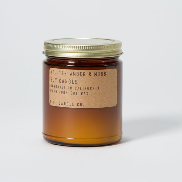 p.f. candle co - amber & moss