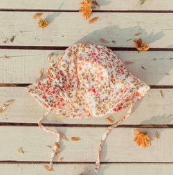 SHOP - Oak Meadow Kids - Sun Hat - Shasta Print