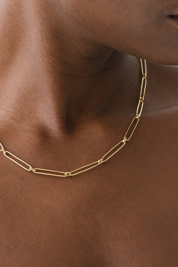 SHOP - FLASH - vermouth chain necklace - 14k vermeil