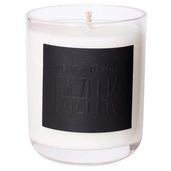 SHOP - Fazeek - Glass Candle - Teak + Neroli