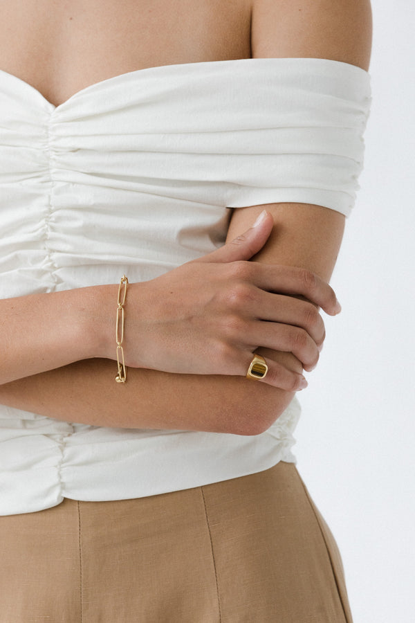 SHOP - FLASH - vermouth chain bracelet - 14k vermeil