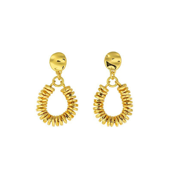 SHOP - Brie Leon - Valerie Drop Studs - Gold