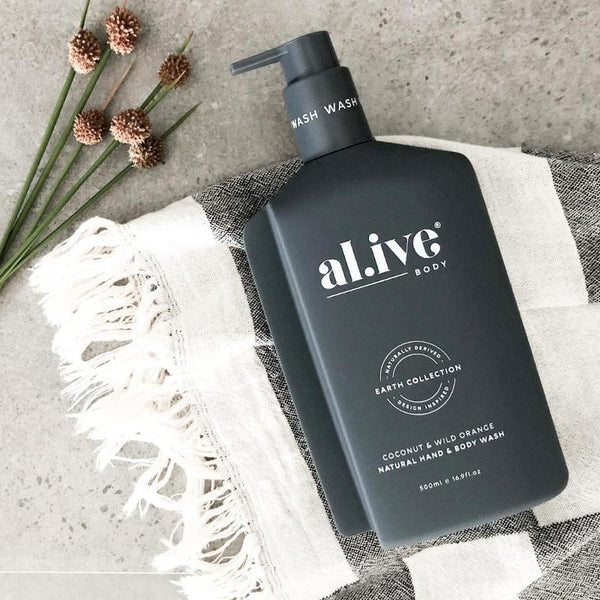 SHOP - ALIVE BODY - hand & body wash - coconut & wild orange