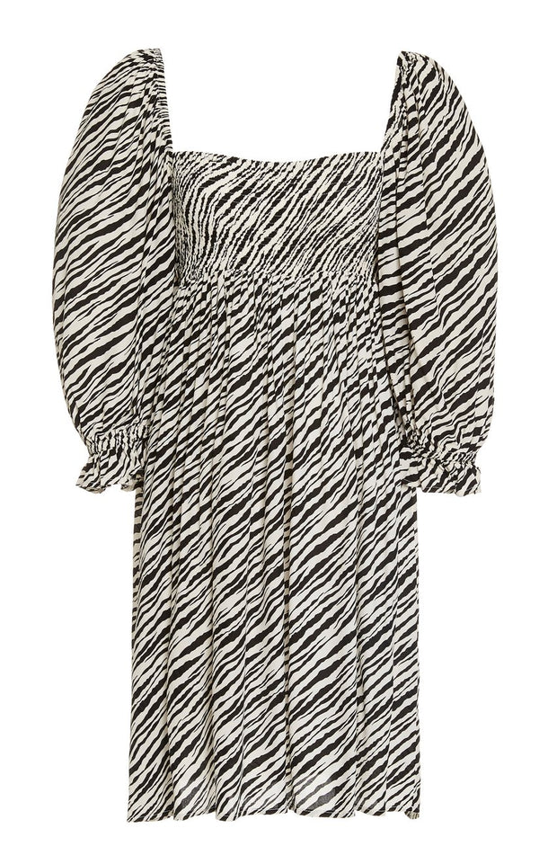 Alina Dress - Animal Print