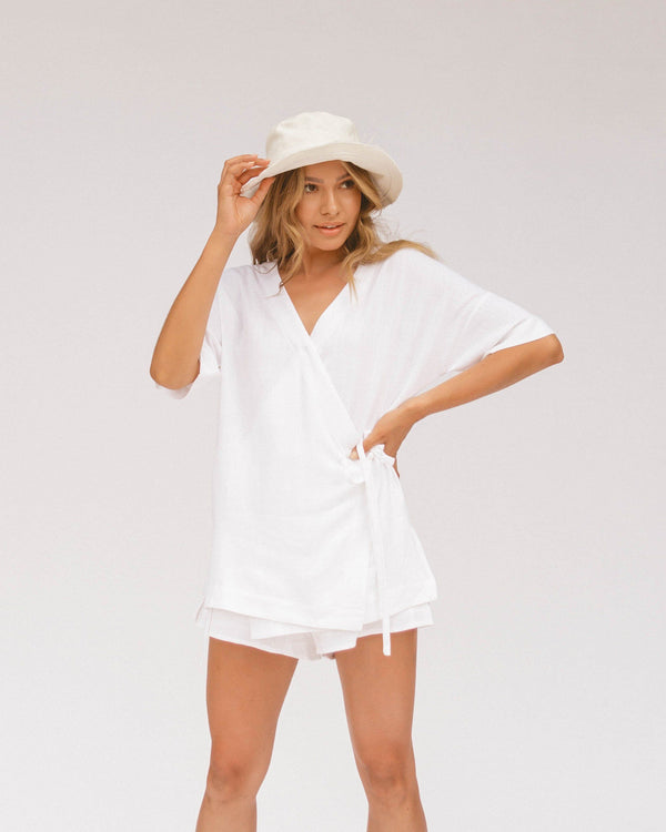 Lullaby Club - LeeLee Lounge Set - White