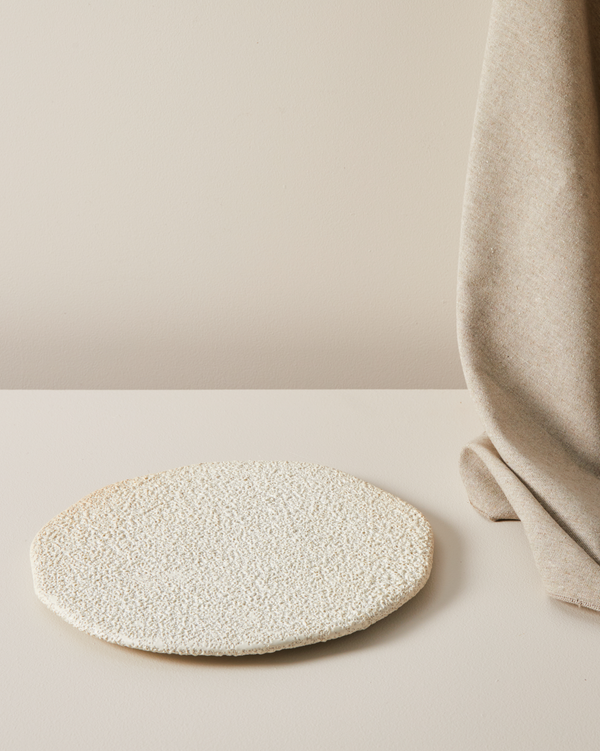 SHOP - MARLOE MARLOE - vanity organic display plate - lava & bone