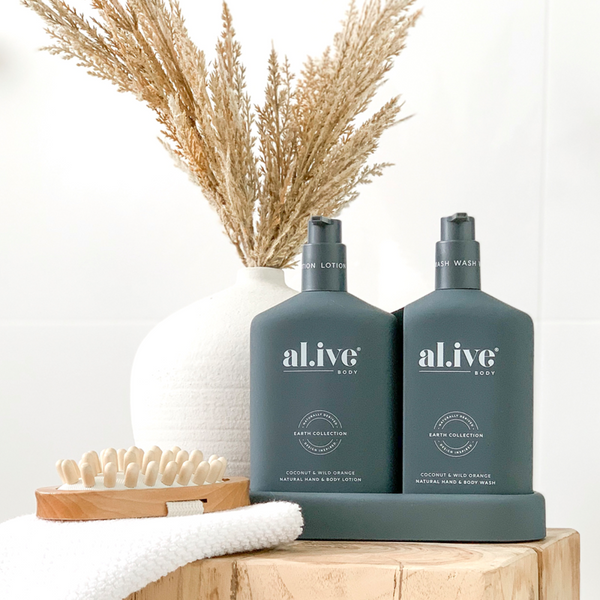 SHOP - ALIVE BODY - hand & body duo - coconut & wild orange