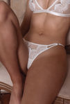 kat the label - chantelle underwear - white