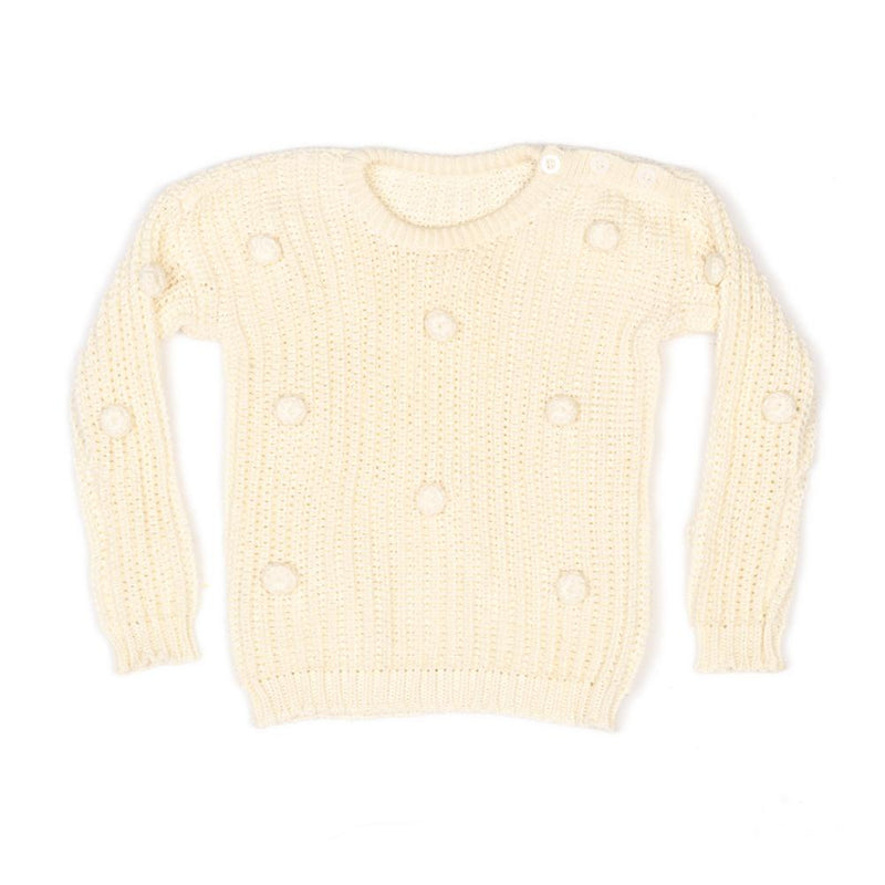 scout knit jumper - cream