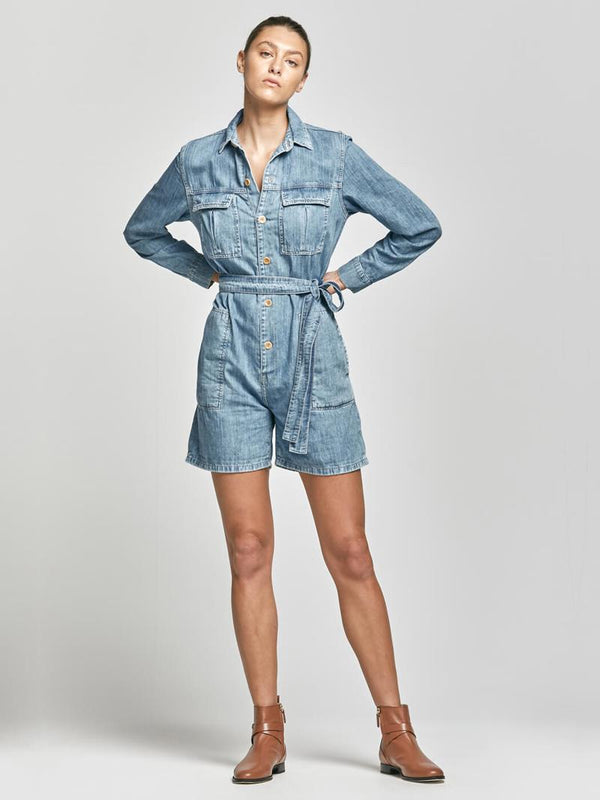 SHOP - Outland Denim - Lori Playsuit - Weekend