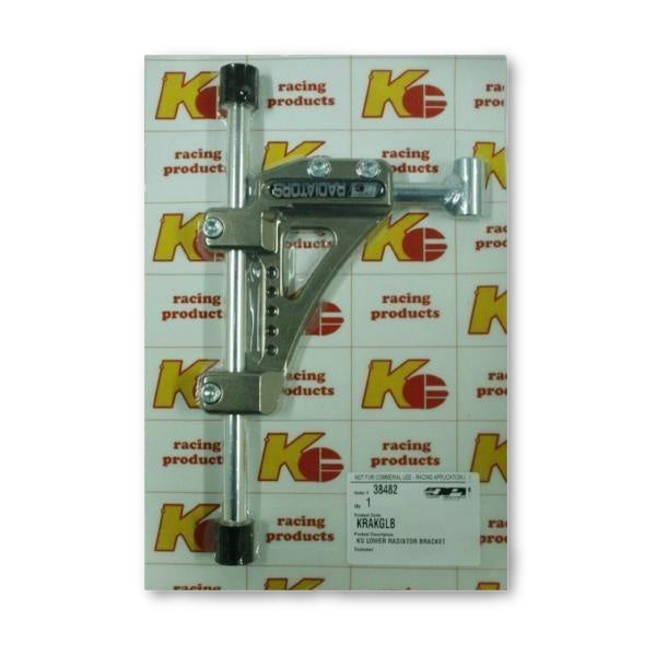 Radiator Bracket Lower - KG - kartingexpress