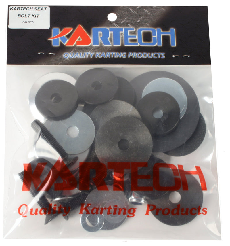 Seat Bolts and Washers - Kartech - kartingexpress