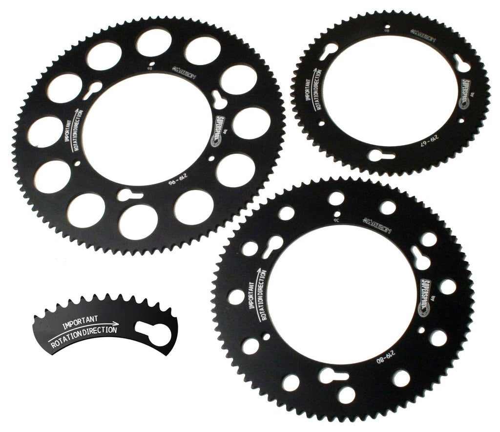Sprockets - Kartech Quickchange - kartingexpress