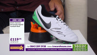 200108 - Alexis Sanchez Personally Signed Football Boot - Treasure TV