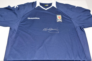 200113 - Kenny Dalglish Personally Signed Scotland Shirt - Treasure TV
