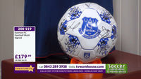 200119 - Everton FC Football Multi Signed by the Players - Treasure TV