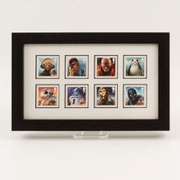 200623 - Star Wars Framed 2017 Space Adventure Official GB Stamps Sheet